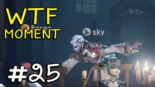 Funny WTF Moments Ep.25 Gameplay Identity V