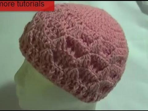 Crochet Patterns Youtube Hats : Crochet Tezzie Hat / Beanie Tutorial - YouTube