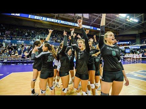 Rainbow Wahine Volleyball 2017 - Hawaii Vs Illinois