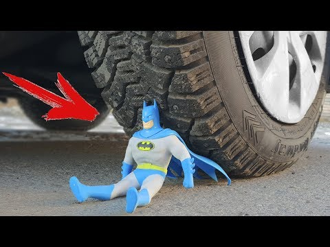 EXPERIMENT: CAR VS BATMAN