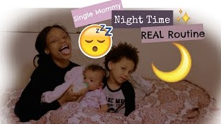 Our NightTime Routine! (Single Mom Edition)|SHAREESLOVE