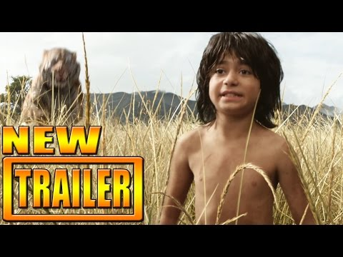The Jungle Book Trailer Official