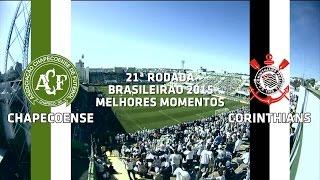 Melhores Momentos - Chapecoense 1 x 3 Corinthians - Brasileirão - 30/08/2015