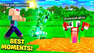 BEST MINECRAFT MOMENTS OF THE YEAR! (REWIND)