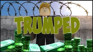 Donald Trump Wall Tycoon! [Roblox]