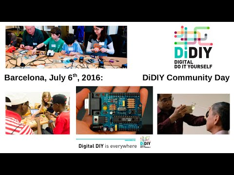 Digital DIY Community Day Barcelona