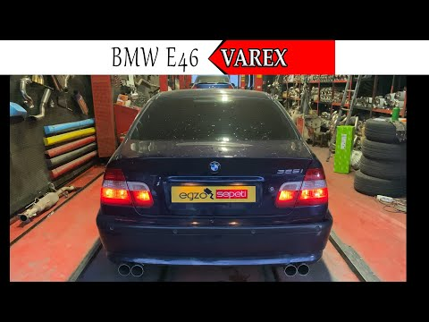 BMW E46 3.25 KUMANDALI VAREX EGZOZ