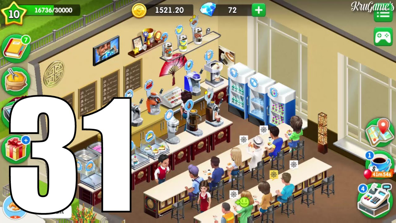 My Cafe: Recipes & Stories Android Gameplay #31 - Level 10