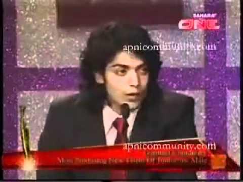 Gurmeet Choudhary wins Most Promising New Talent Award - August 2008