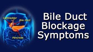 Symptoms Of A Bile Duct Blockage