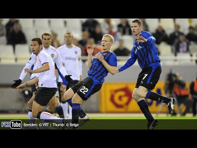 2008-2009 - UEFA-Cup - 05. Groep G Match 3 - Valencia CF - Club Brugge 1-1