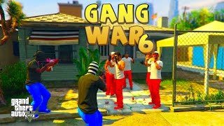 GTA 5 ONLINE - GANG WAR PART 6 | THE SET UP | Bloods vs Crips