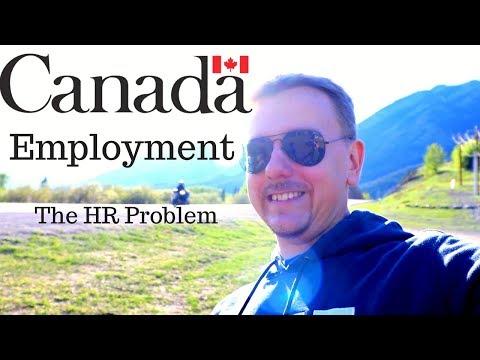 Employment Problem in Canada | HR Problem