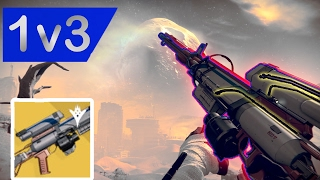 1v3 Trials against teabagger W/ Hereafter Exotic Sniper | Destiny thumbnail