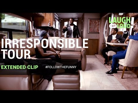 Kevin Hart's IRRESPONSIBLE TOUR is Here | Extended Clip | LOL Network