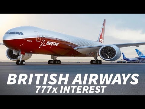 Will BRITISH AIRWAYS Order the 777x?