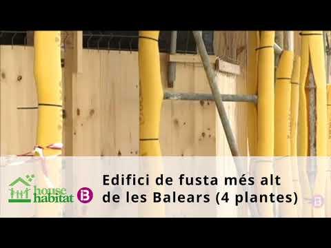 Edificio de 4 plantas de madera en Palma, noticia en IB3