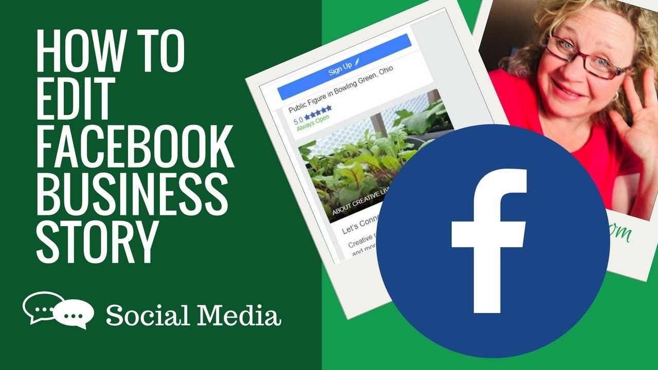 How to ADD A Facebook STORY to your  Business Page on Computer