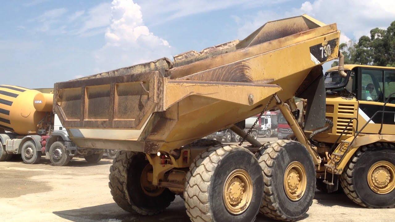 Caterpillar 730 1m01479 Articulated Dump Truck Youtube