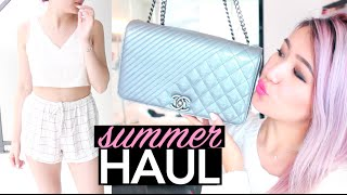 Summer Fashion Haul + Try-On: Aritzia, Brandy Melville & More!