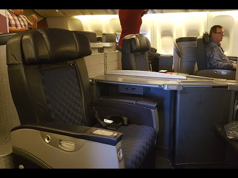 American Airlines B777-200 Domestic First Class : Dallas to Chicago