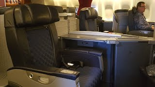 american airlines b777 200 domestic first class dallas to chicago
