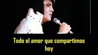 ELVIS PRESLEY - When the snow is in the roses ( con subtitulos español )