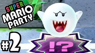 Super Mario Party - 2 Player Nintendo Switch Gameplay Walkthrough PART 2: Boo's Bad Luck