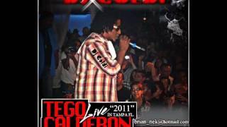 Tego Calderon (mix live) - Dj Goldi