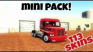 ♣Hts - pack de Skins scania 113 / heavy Truck simulator ♣