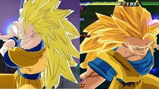 Comparison: Raging Blast Vs Tenkaichi 3 {Super Attacks And More}