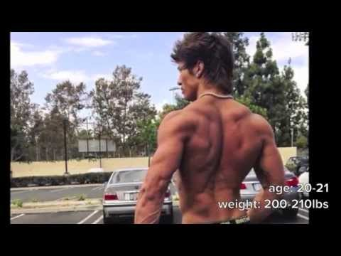 Jon Skywalker's 3 year body transformation - The Aesthetic Dream