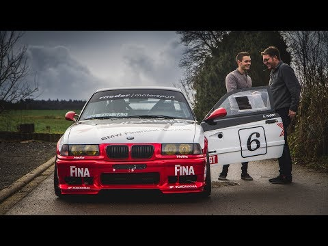 ALEX HARDT AND HIS ICONIC BMW E36 M3 JOIN OUR TEAM