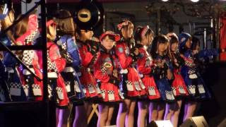 TOYOTA GAZOO Racing FESTIVAL 2016 AKB48チーム8 スペシャルライブ②3-3 富士スピードウェイ イベント広場 2016年11月27日 ~47の素敵な街へ~ ステージ参加 ...