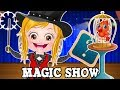 Baby Hazel Magic Show Gameplay by Baby Hazel Games | Fun Game Videos For Kids