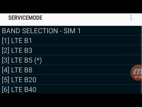 Change Or Lock LTE Band In Service Mode With Phone Dialer(No Root) In Any Samsung Phone Trick 2019🔥