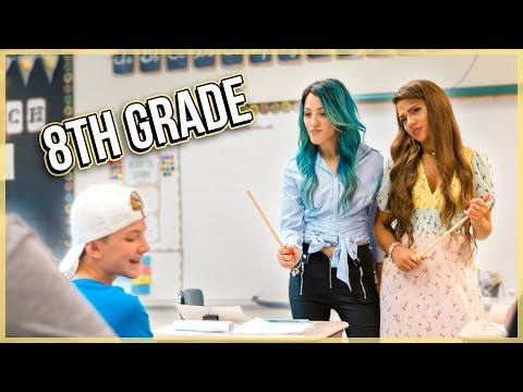TWINS TRY Teaching 8th Grade