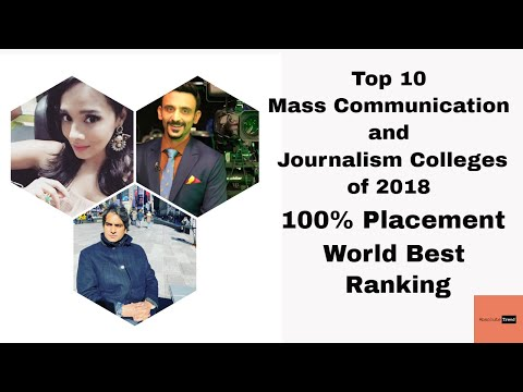 Top 10 Mass Media Colleges For Career After 12th In INDIA // Absolute Trend