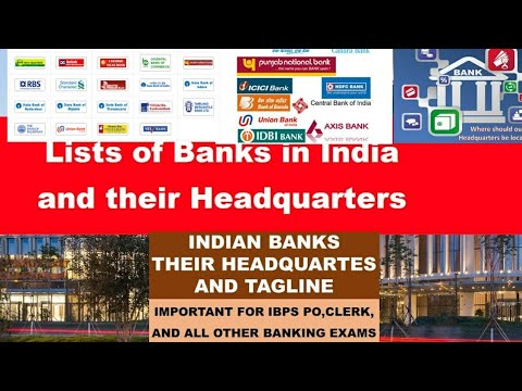 """Bank And Their Headquarters""""by Career Zone"""""""