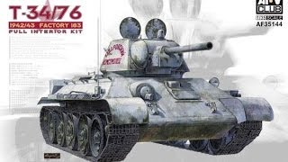 kit review afv club t34 76 factory 183