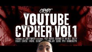 Crypt - YouTube Cypher ft. Randolph, Vin Jay, Hi Rez, CHVSE, FabvL, Scru, & MORE [REACTION]