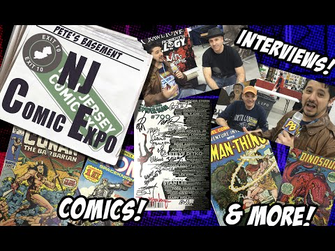 EXTRA! New Jersey Comic Expo Review from Pete's Basement!