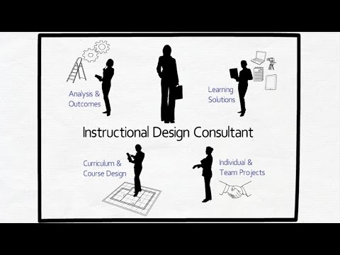 What does an instructional design consultant do?