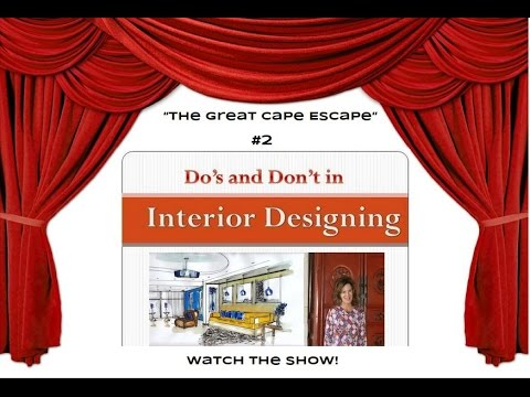 """How To Decorate A Vacation Rental Home """"The Great Cape Escape"""""""
