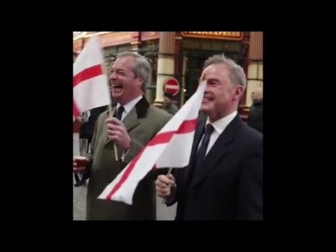 Happy St. George's Day from Nigel Farage