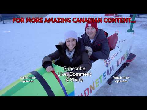 Experiencing An Olympic Bobsleigh In Calgary At WinSport (Olympic Park Calgary)