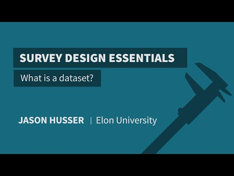 What Is A Dataset?