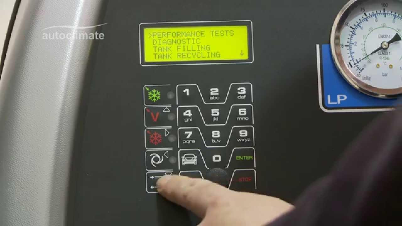 Robinair Ac690 Pro Manual Refrigerant Recycling Youtube