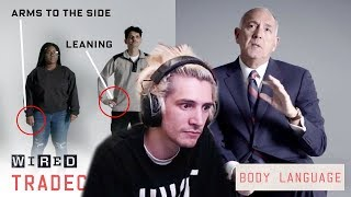 xQc Reacts to Former FBI Agent Explains How to Read Body Language | Tradecraft | WIRED