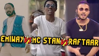 EMIWAY BANTAI vs MC STAN vs RAFTAAR -Roast plus Disstrack